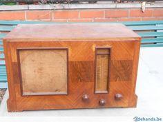 oude radio S B R van voor de 2de wereld oorlog