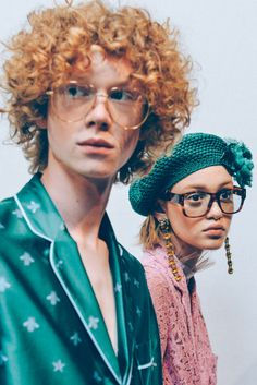 Tommy Ton - Archive people young red curly