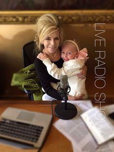 Gwen with her granddaughter after the live radio show-www.weighdownradio.com