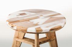 Zero desperdício: estúdio cria peças combinando restos de madeira com resina   IdeaFixa