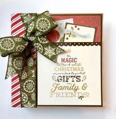 Christmas Scrapbook Album Kit or Premade Scrapbook by ArtsyAlbums