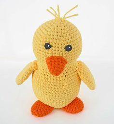 Crochet Toy Pattern Amigurumi Duck Crochet