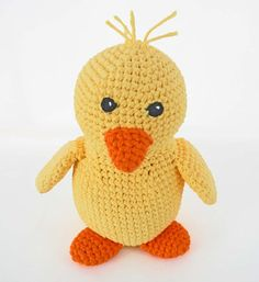 Crochet Toy Pattern: Amigurumi Duck by HerterCrochetDesigns