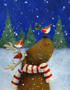 Album 2 « Gallery 13 « Christmas (by category) « Jan Pashley – Illustration / Design