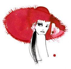 Illustrations for Rocco Forte Hotels by Lovisa Burfitt ❤️