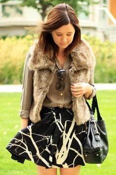 Faux Fur and Neutrals