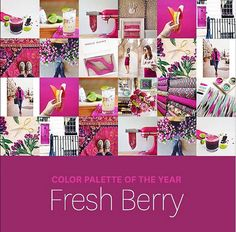 Color Trend: Fresh Berry // Twin Stripe
