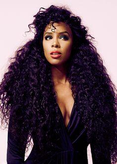 Hair goals.....Kelly Rowland