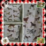 18. Dandycrafts ~ Dog lovers cushions & apron
