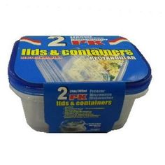 2Pk Rectangular Food Container Case Pack 48 - 787614 by DDI. $81.61. Allof theproductsshowcased throughoutare100%OriginalBrand Names.. Please refer to the title for the exact description of the item. 100% SATISFACTION GUARANTEED. 2Pk Rectangular Food Container - Includes Two 2-Cup Stackable Containers, Two 1-Cup Stackable Containers And Removable Ice Packs To Keep Food Chilled And Fresh. Freezer, Microwave And Top-Rack Dishwasher Safe (Except Ice Packs). Do ...