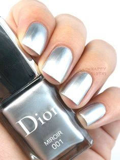 "The Happy Sloths: Dior Fall 2015 Dior Vernis in Darling Blue"", Glam Nails, Hot Nails, Beauty Nails, Hair And Nails, Sexy Nails, Latest Nail Colours, Nail Colors, Dior Makeup, Makeup Geek"