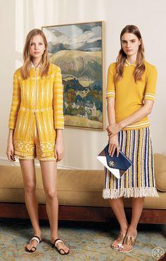 Tweed & Texture: Tory Burch Spring 2015