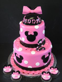 10 Cutest Minnie Mouse Cakes - Pretty My Party