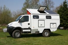 Iveco off-road motorhome