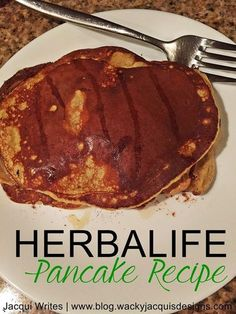 Are you looking for a new recipes for your Herbalife products? I love making Herbalife pancakes, who knew that you could lose weight eating pancakes! These are seriously delicious. Super filling an…