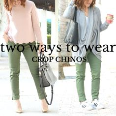 Two ways to wear cro