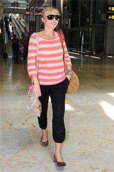 Elsa Pataky con su 'look aeropuerto'
