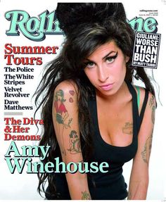 Rolling Stone Cover of Amy Winehouse http://www.barewalls.com/pv-393819_Amy-Winehouse.html