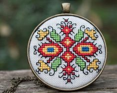 Freehand Machine Embroidery, Folk Embroidery, Ribbon Embroidery, Cross Stitch Embroidery, Embroidery Patterns, Cross Stitch Patterns, Bordado Popular, Tatting Patterns Free, Cross Stitch Needles