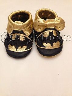 Batman or Batgirl inspired 100 Genuine Leather Evy by EvyMoccs