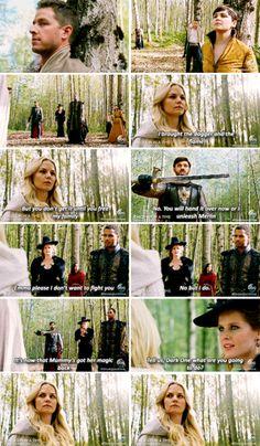 """David, Mary Margaret, Emma, Regina, Hook, Merlin, Arthur and Zelena - 5 * 8 """"Birth"""""""