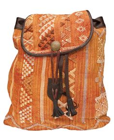 TRIBAL, backpack. For more ethnic fashion inspirations and tribal style visit www.wandering-threads.com