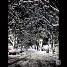 Ref: 05-1116 Rua Alves Roçadas em noite de nevãoTodas as...