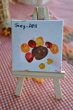 Gobble Gobble Painting {Kids Craft}