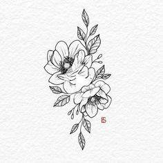 Camelias 🌸 I'd love to do these on a thigh or upper arm when I start tattoo. - Camelias 🌸 I'd love to do these on a thigh or upper arm when I start tattoo…, - Arm Tattoos For Women Upper, Upper Thigh Tattoos, Upper Back Tattoos, Floral Thigh Tattoos, Dainty Tattoos, Sleeve Tattoos For Women, Tattoo Sleeve Designs, Mini Tattoos, Body Art Tattoos