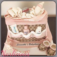 Luiertas taart / diaperbag cake