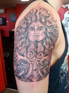 Freehand Design Artist: Steve at NZ Ink Tattoo Studio, 5 Good Street, Rangiora, New Zealand 033106669/0273629814 or Facebook Message us
