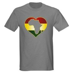 My Hear Is In The Motherland T-shirt