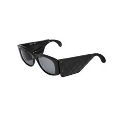 1stdibs | CHANEL VINTAGE QUILTED LEATHER SUNGLASSES
