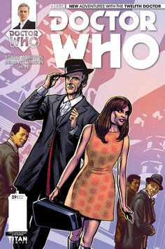 Doctor Who Titan Comics 12th Doctor issue #9