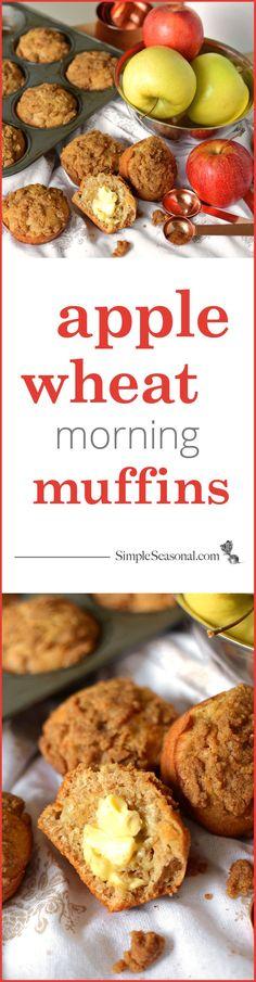 apple wheat morning