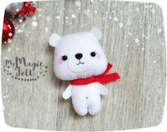 Kerst ornamenten wanten voelde versiering voor de door MyMagicFelt
