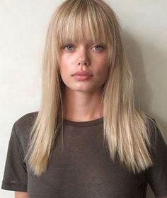Pleasing Fringes Blonde Hair And Blondes On Pinterest Short Hairstyles Gunalazisus