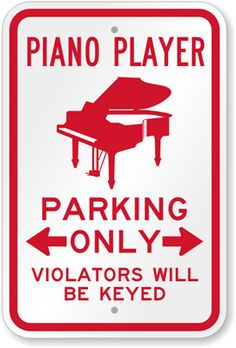 """Ha! How fun!  Only wish I could change the last word to """"noted"""" - or the last phrase to """"violators will be in treble"""""""