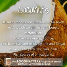Coconuts are one of the most amazing food sources when kept in their whole natural form! Find out why the organic coconut used in our Food Matters Superfood Protein blend is one of a kind! http://foodmatters.tv/superfood-protein
