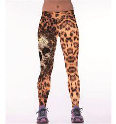 2017 Sexy Sporting Workout Leggings For women Leopard Fitness legging high waist Elastic Gymnasium leggins Jegging leggings Running Leggings, Girls Leggings, Leggings Are Not Pants, Workout Leggings, Workout Pants, Women's Leggings, White Leggings, Print Leggings, Waist Workout