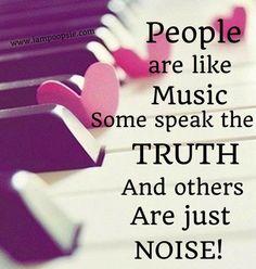People are like music quote via www.IamPoopsie.com                              …