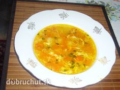 Zajačikova polievka (mrkvová) Curry, Soup, Yummy Food, Ethnic Recipes, Curries, Delicious Food, Soups