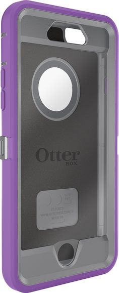 Amazon.com: OtterBox iPhone 6 Case - Defender Series, Frustration-Free Packaging - Plum Punch (Gunmetal Grey /Opal Purple) (4.7 inch): Cell Phones & Accessories