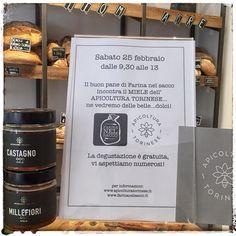 Vi aspettiamo sabato con @mieletorino per l'assaggio di #miele di #castagno #millefiori e #melata #api #honey