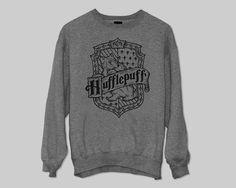 Hufflepuff House sweater Jumper gift cool fashion sweater Size M L XL