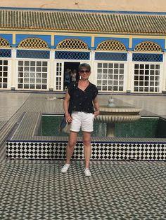 Marrakesh, visiting Bahai Palace