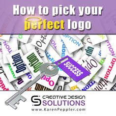 A post I did on picking the right logo for YOU