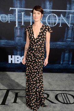 Lena Headey (Carolina Herrera) - Abril 2016 (Premiere de Game of Thrones)