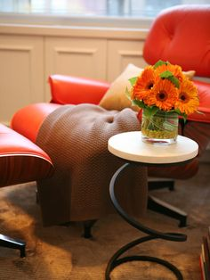 Tangerine Tango has a very retro feel and can be found in all sorts of vintage furniture.