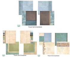 NEW PRODUCTS: Come Away with Me Travel cardstock. Our Memories for Life.  Scrapbooking.